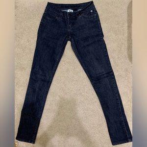 Like New Harley Davidson Black Washed Skinny Jeans